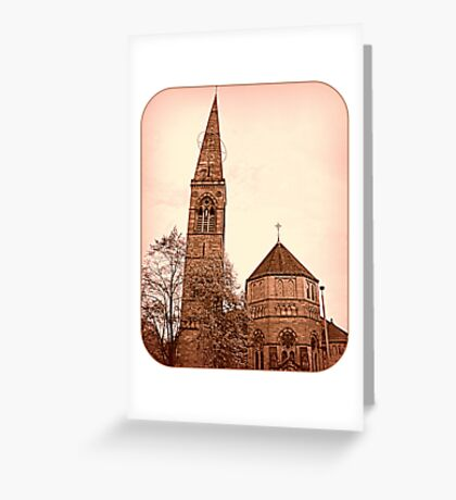 Oran Mor is going pink!  Breast Cancer Awareness Month Greeting Card