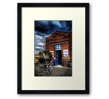 The Pram Framed Print