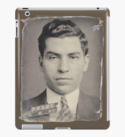 Lucky Luciano Mug Shot iPad Case/Skin