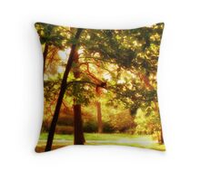 wild nature, squirrel Throw Pillow