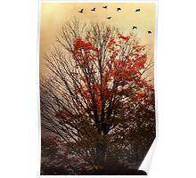 autumn goodbyes Poster