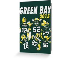 Green Bay Packers - 2015 Greeting Card