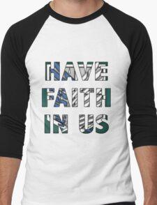 A Plea from Petra Men's Baseball ¾ T-Shirt