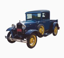 1930 Model A Ford Pickup Truck One Piece - Long Sleeve