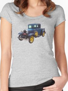 1930 Model A Ford Pickup Truck Women's Fitted Scoop T-Shirt
