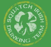 Squatch Irish Drinking Team Baby Tee