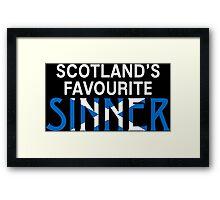 "Christopher Saynt ""Sinners are Winners""  Framed Print"