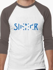 "Christopher Saynt ""Sinners are Winners""  Men's Baseball ¾ T-Shirt"