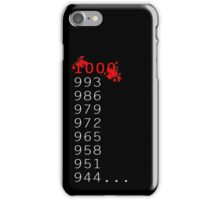 """What's 1000 Minus 7?"" iPhone Case/Skin"