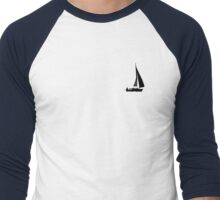 On The Waves Men's Baseball ¾ T-Shirt