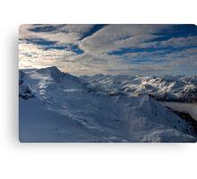 Winter on Kitzsteinhorn 75 Canvas Print