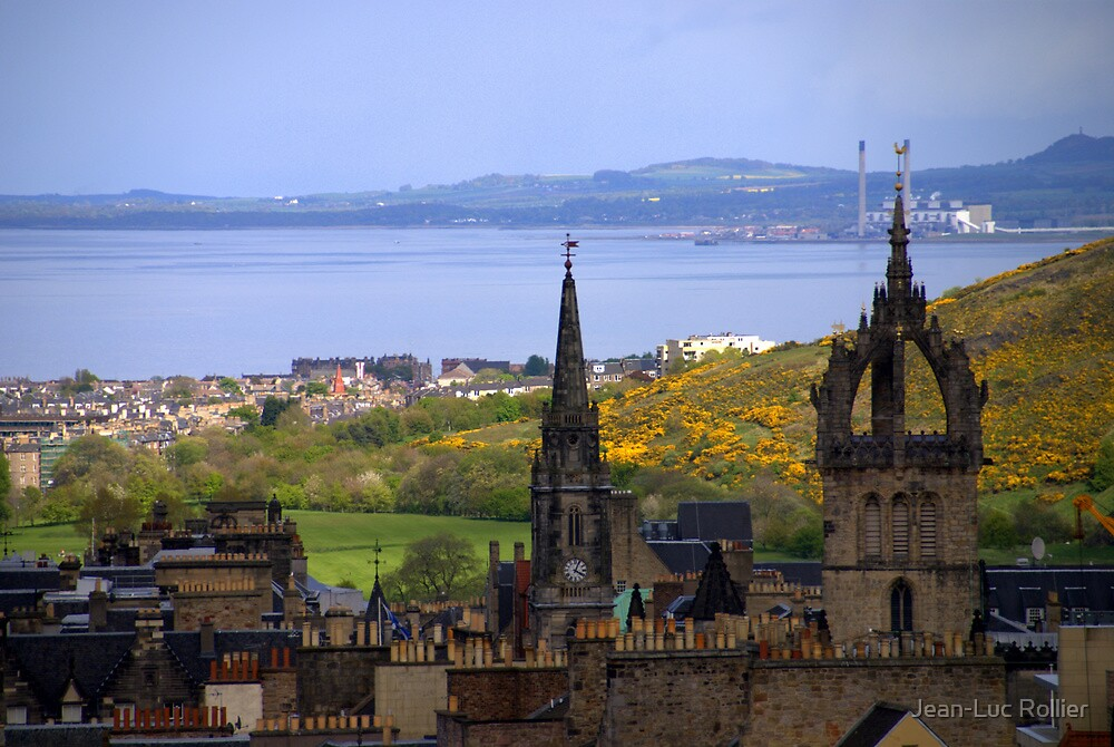 Edinburgh - 1 by Jean-Luc Rollier