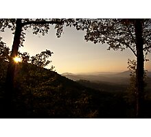 Waking the Valley Photographic Print