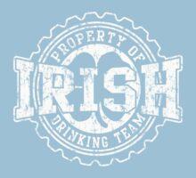 Irish Drinking Team Bottle Cap Kids Tee