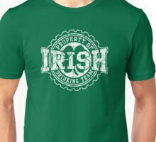 Irish Drinking Team Bottle Cap Unisex T-Shirt