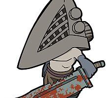 Silent Hill - Pyramid Head by 57MEDIA