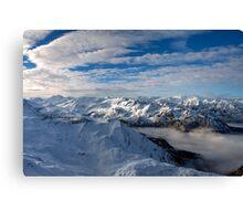 Winter on Kitzsteinhorn 76 Canvas Print