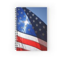 Let Freedom Shine Spiral Notebook