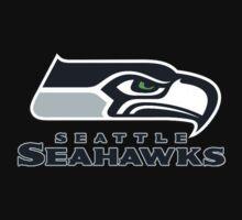 Seattle Seahawks logo 2 by NOFOLE