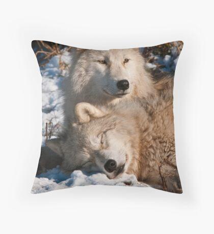 Sleep Little One, I'll Be Watching Throw Pillow
