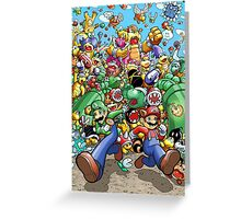 Super Mario Bros. 3 - RUN!!! Greeting Card