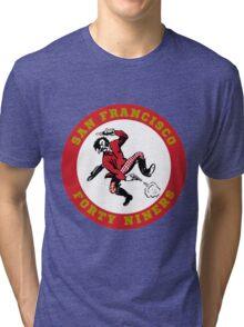 San Francisco 49ers logo 2 Tri-blend T-Shirt