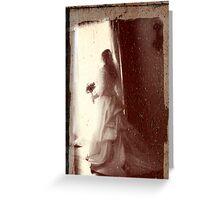 haunted honeymoon Greeting Card