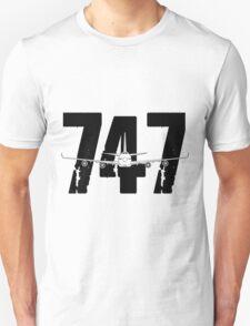 Boeing 747 Unisex T-Shirt