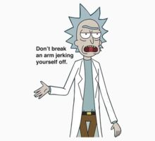 Rick and Morty-- Don't break an arm... by lovecooks