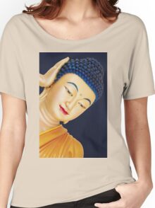 buddha face Women's Relaxed Fit T-Shirt