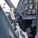 Fieseler Storck Cockpit by Steven Squizzero
