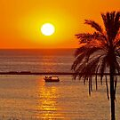 Cyprus Sunset by Alex Cassels