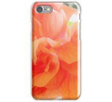 SOFT AND GENTLE IN PEACH iPhone Case/Skin