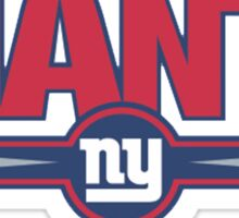 New York Giants logo 2 Sticker