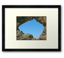 Australia Rock Framed Print