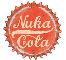 Nuka Cola Bottle Cap by Jamie Stryker