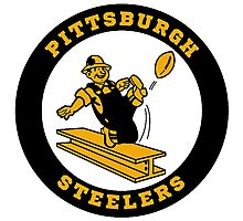 Pittsburgh Steelers logo 2 Photographic Print