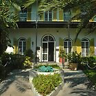 Hemingway&#x27;s House in Key West by Susanne Van Hulst