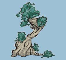 Tree - summer One Piece - Short Sleeve