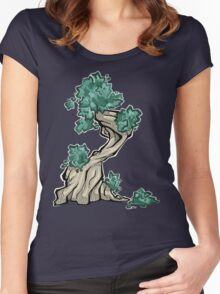 Tree - summer Women's Fitted Scoop T-Shirt