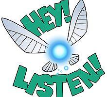"Legend of Zelda: Ocarina of Time - Navi ""Hey! Listen!"" by 57MEDIA"