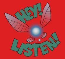 """Legend of Zelda: Ocarina of Time - Navi """"Hey! Listen!"""" Baby Tee"""