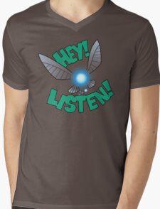 """Legend of Zelda: Ocarina of Time - Navi """"Hey! Listen!"""" T-Shirt"""