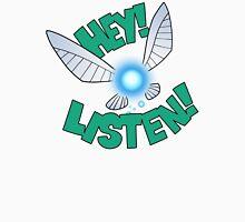 """Legend of Zelda: Ocarina of Time - Navi """"Hey! Listen!"""" Unisex T-Shirt"""