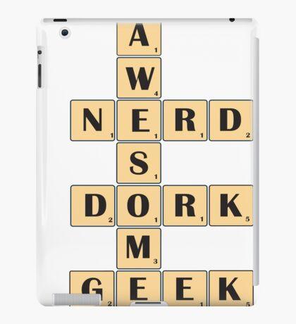 Awesome Nerd Geek Dork iPad Case/Skin