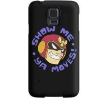 """Super Smash Bros. - Captain Falcon """"Show Me Ya Moves!"""" - F-Zero Samsung Galaxy Case/Skin"""