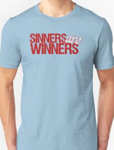 "Christopher Saynt ""Sinners Are Winners"" T-Shirt"