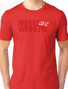 "Christopher Saynt ""Sinners Are Winners"" Unisex T-Shirt"