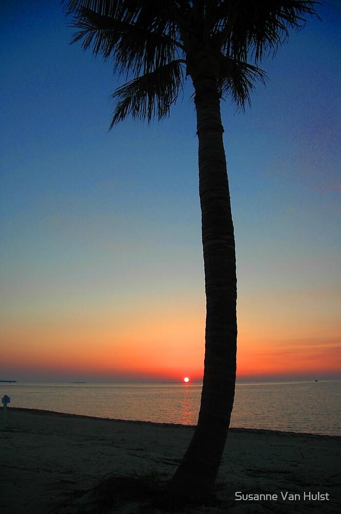 Sunset at Sunset Key, Florida by Susanne Van Hulst