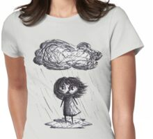 Rainy Girl Womens Fitted T-Shirt